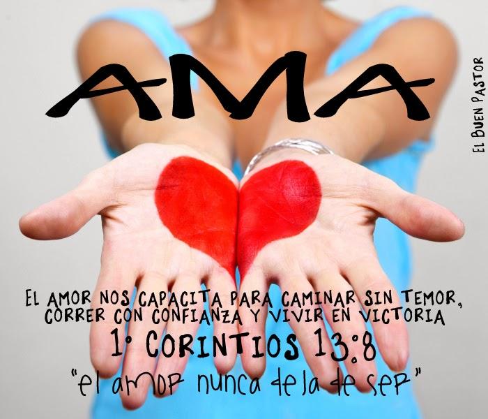 1° Corintios 13:8