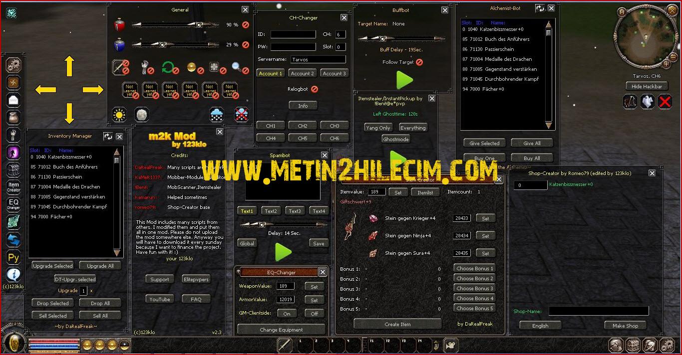Metin2 m2kmod Multihack 7x Hilesi 09.10.2014