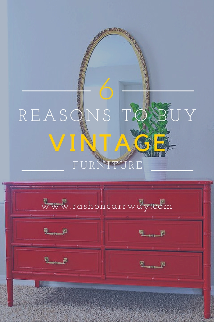 Attirant 6 Reasons To Buy Vintage Furniture