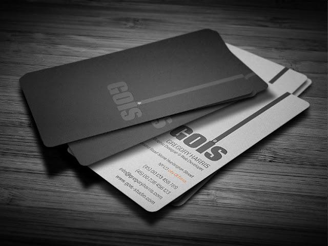 mẫu name card sang trọng 2