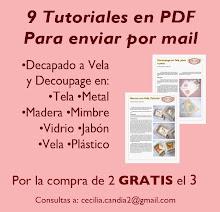 9 Tutoriales en PDF - Para las que quieren aprender y están lejos