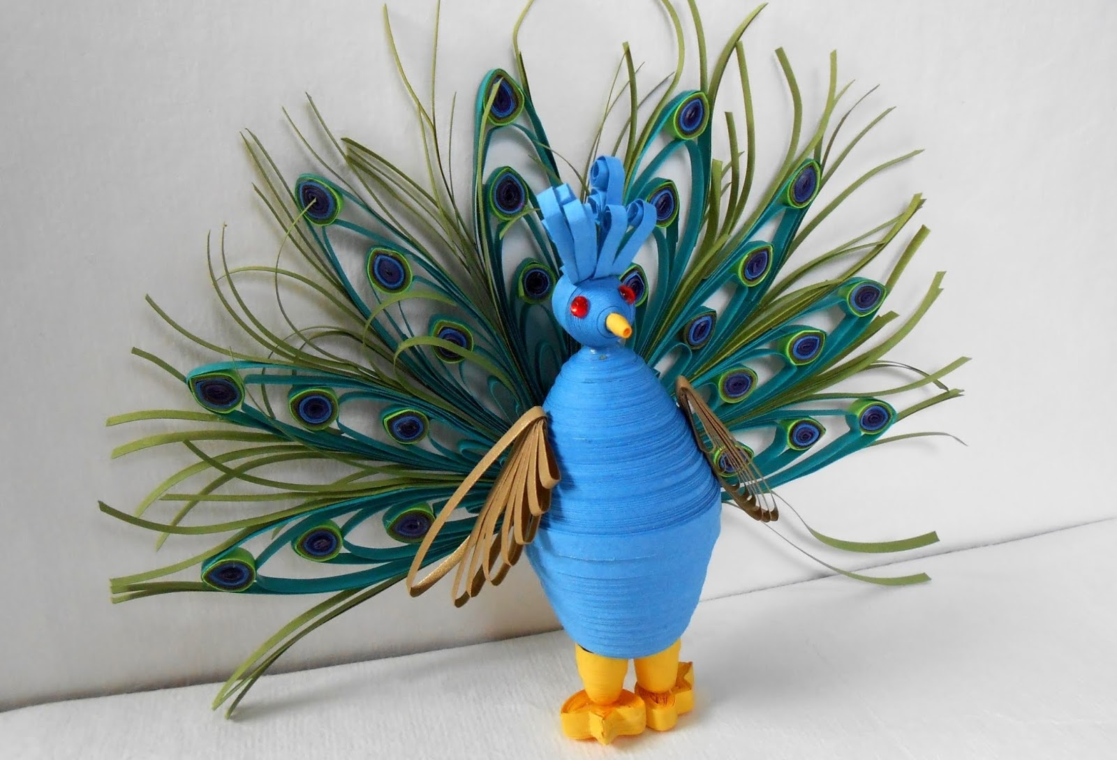 3d animal quilling patterns art craft projects for How to quilling art