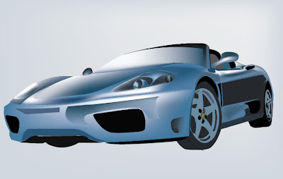 diseño de auto en vectores gratis