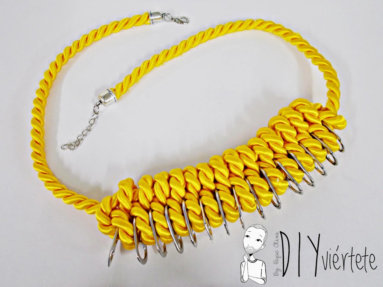 DIY-collar nudos-bisutería-hebillas refrescos-reciclar-reutilizar-1