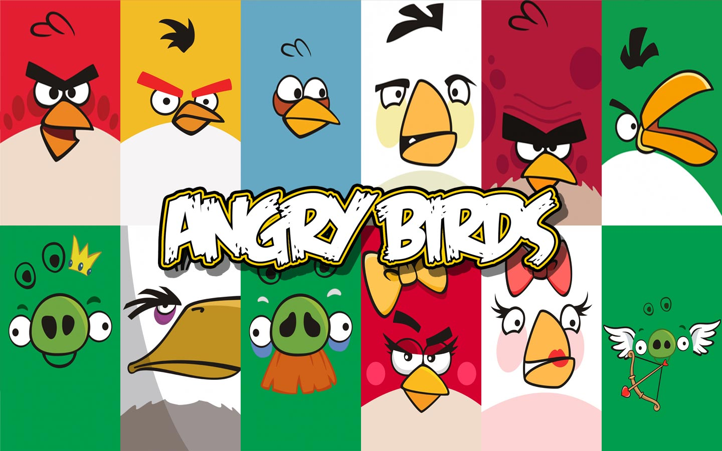 12 Wallpaper Angry Birds Terbaru