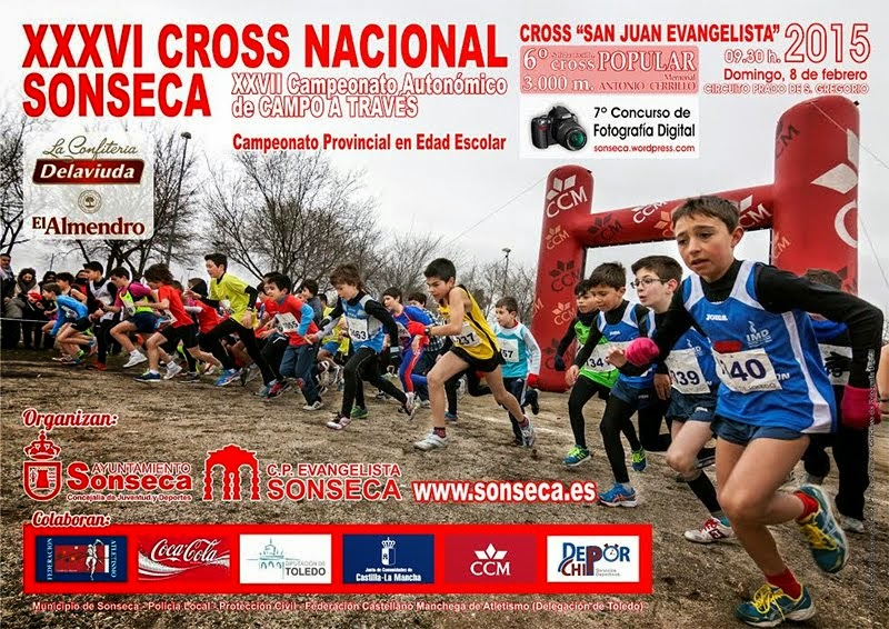 XXXVI Cross Nacional y Cross Corto Popular San Juan Evangelista de Sonseca