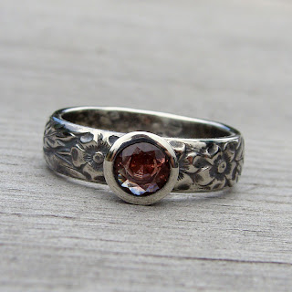oregon sunstone ring
