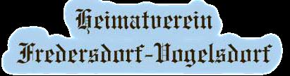 Heimatverein Fredersdorf / Vogelsdorf