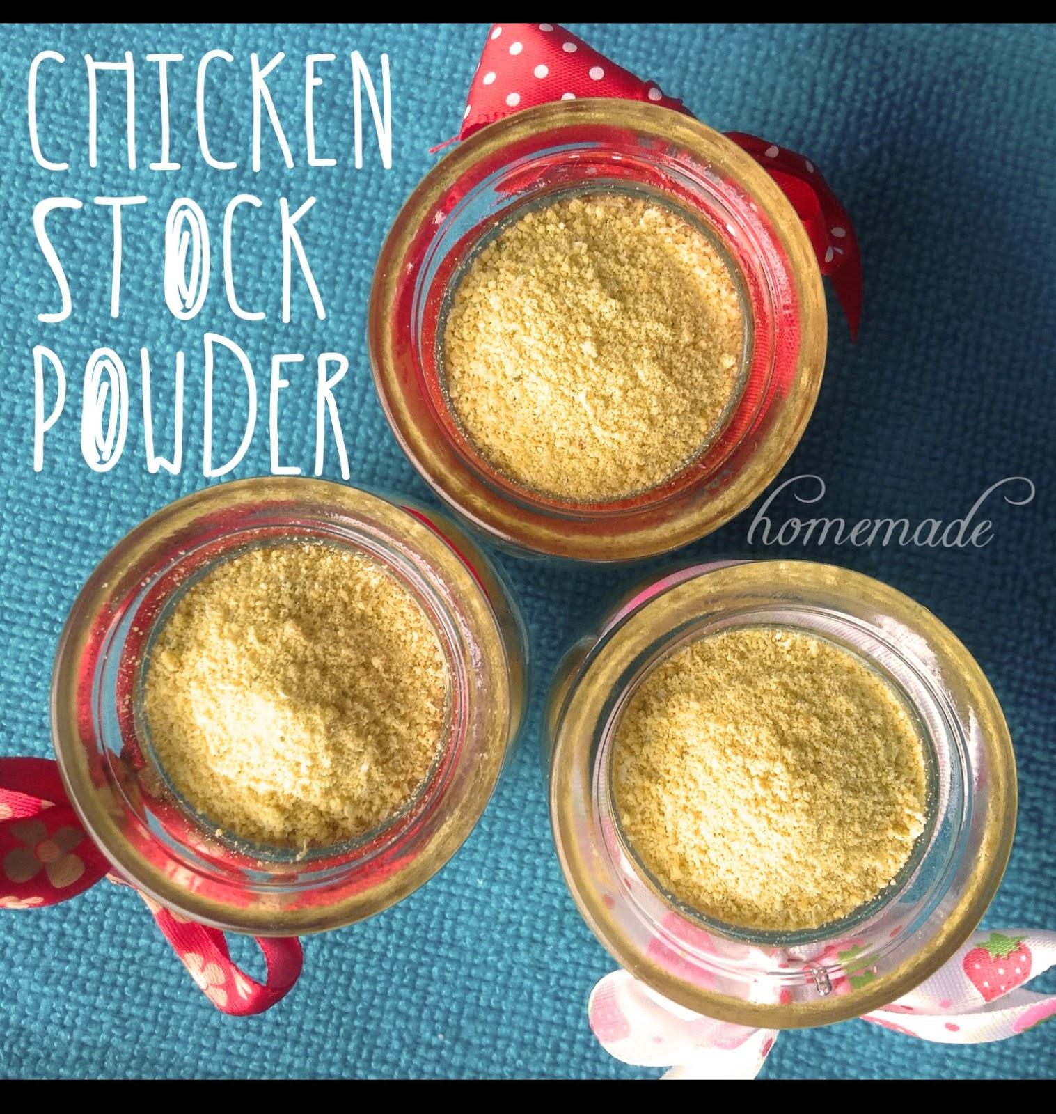 The wonder mummy homemade chicken stock powder the wonder mummy forumfinder Images