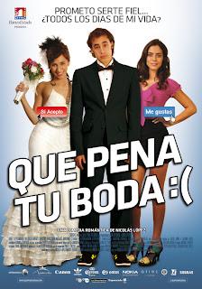 Ver online: Qué pena tu boda (2011)
