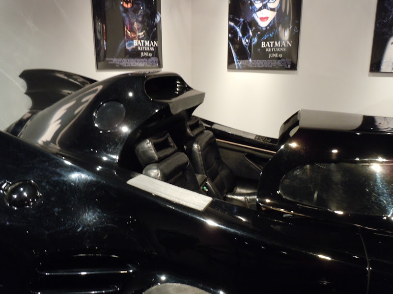 Batman 1989 Batmobile interior