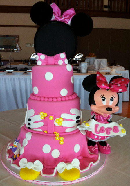 Delicious Cakes Minnie Mouse Cake Ideas Minnie Mouse Cake