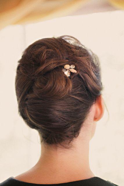 bridesmaids fishtail braid