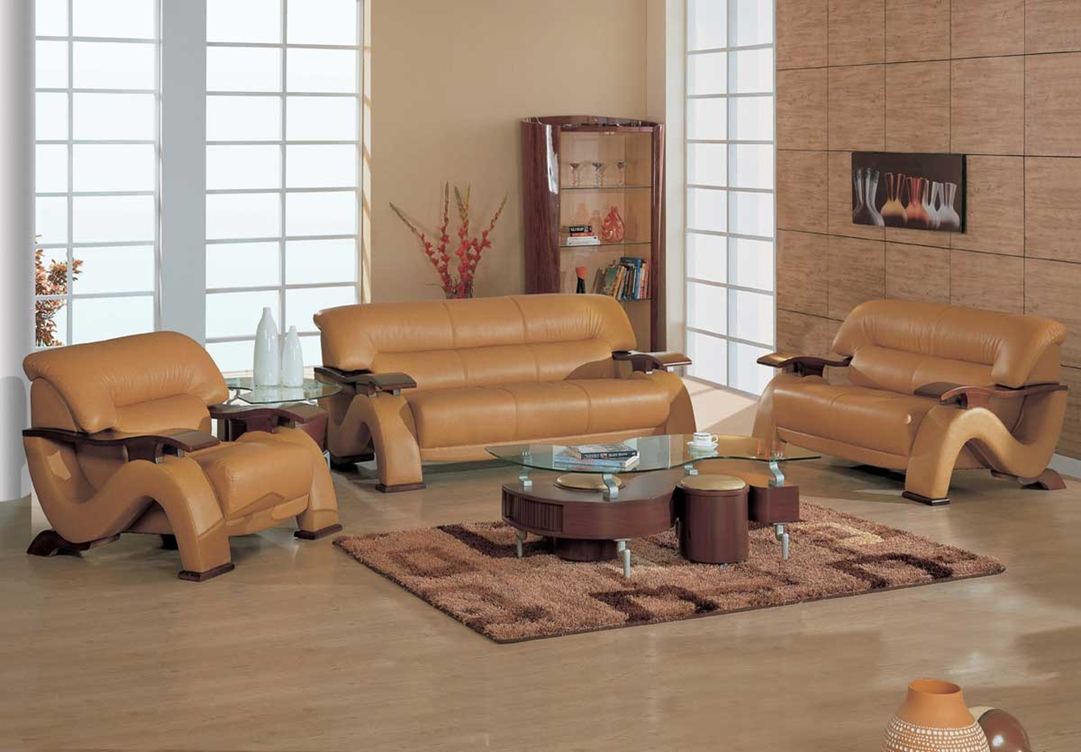 wooden sofa set design