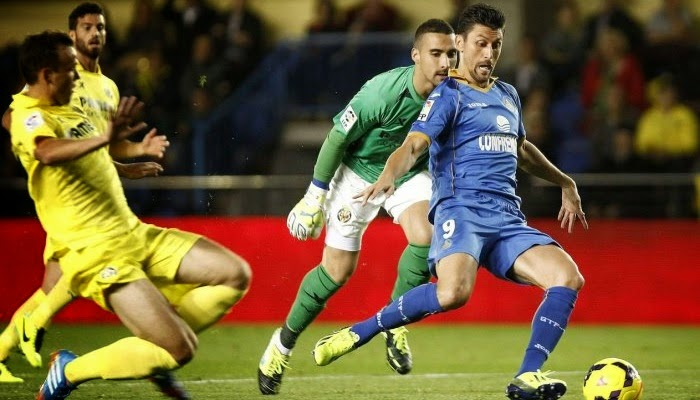 Villarreal vs Getafe en vivo