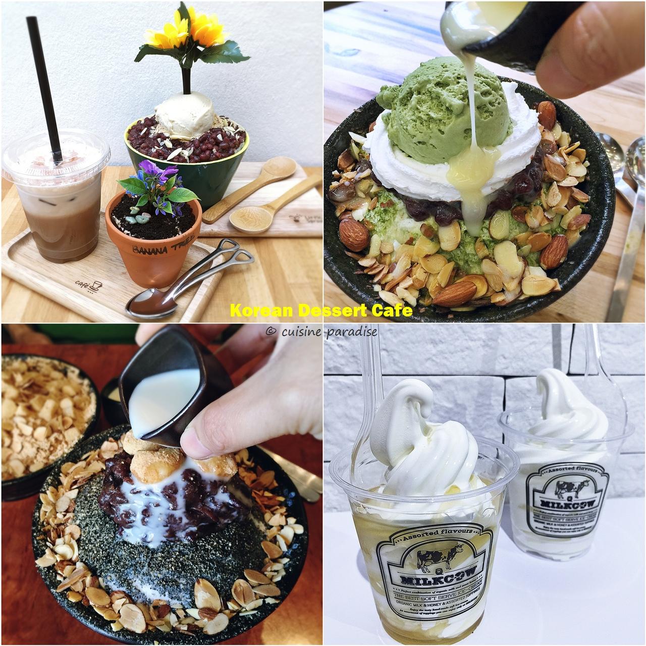 Cuisine paradise singapore food blog recipes reviews and travel korean dessert in singapore bingsu vs soft serve ice cream forumfinder Gallery