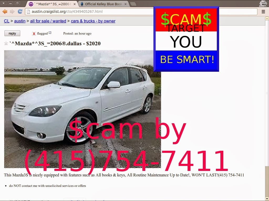 Scam ads updated for 02 25 updated vehicle scams austin craigslist cars by owner