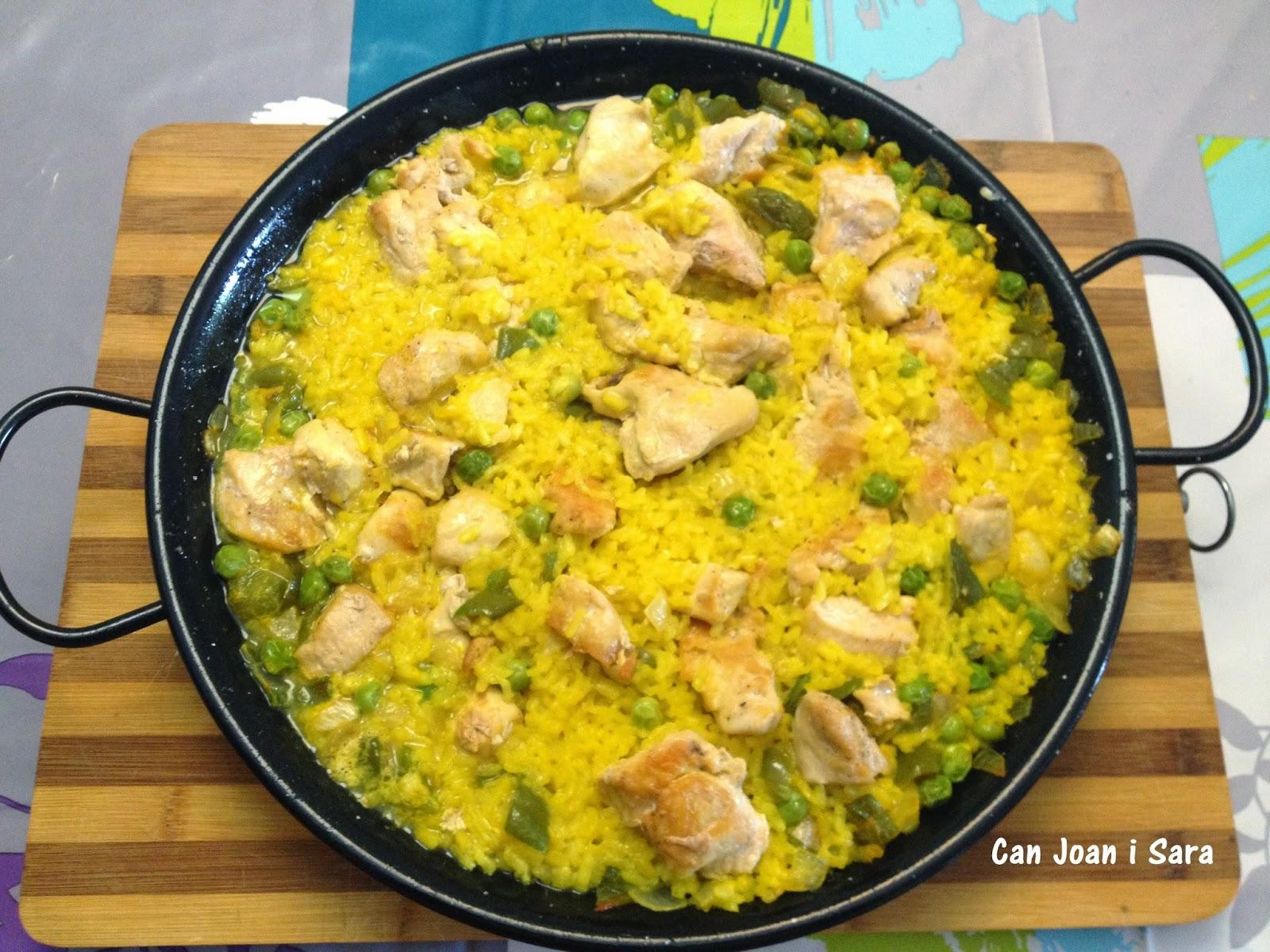 Arroz con pollo recetas de cocina - Cocina con sara paella ...