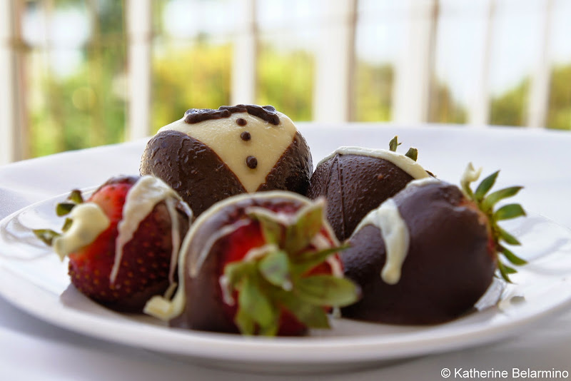 Chocolate Covered Strawberries at Loews Coronado Bay