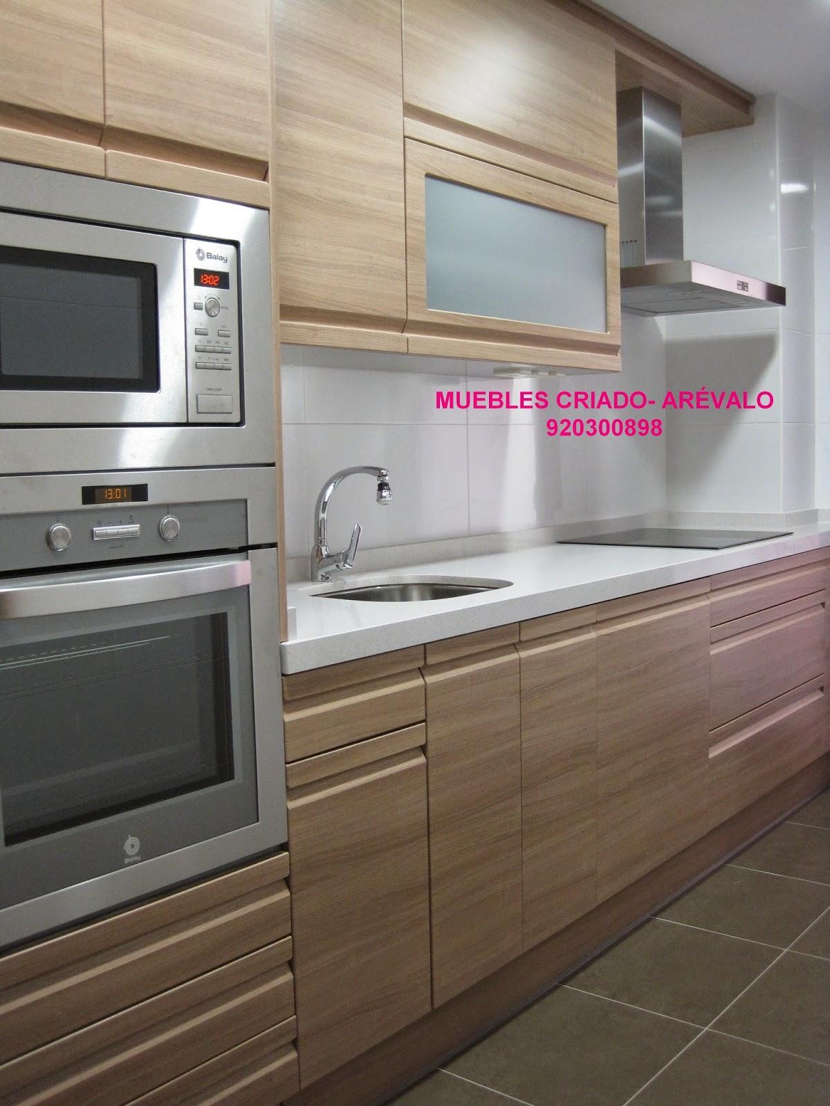 Muebles Cerezo Y Blanco Trendy Cocina Modelo Armona En Madera Con  # Muebles Rumanos