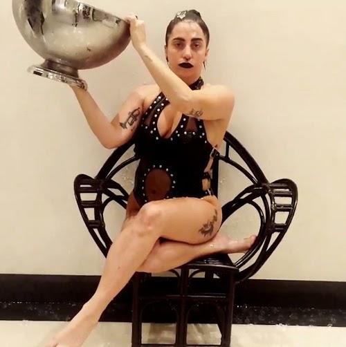 "Lady Gaga se suma al ""Ice  Bucket  Challenge """