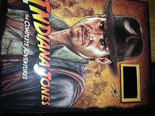 Indiana Jones film cell
