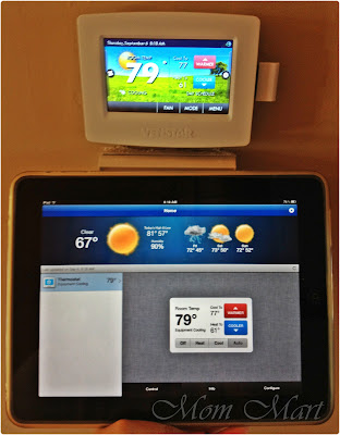 Venstar ColorTouch Thermostat iPad App