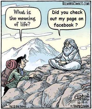 Himalayas Swamijis also using Facebook