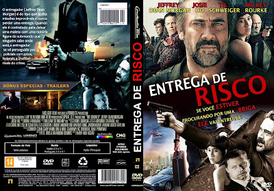 Entrega de Risco DVD Capa