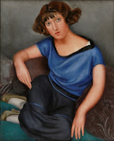 JOSEP DE TOGORES Portrait de Mme. Claire Goll - 1923