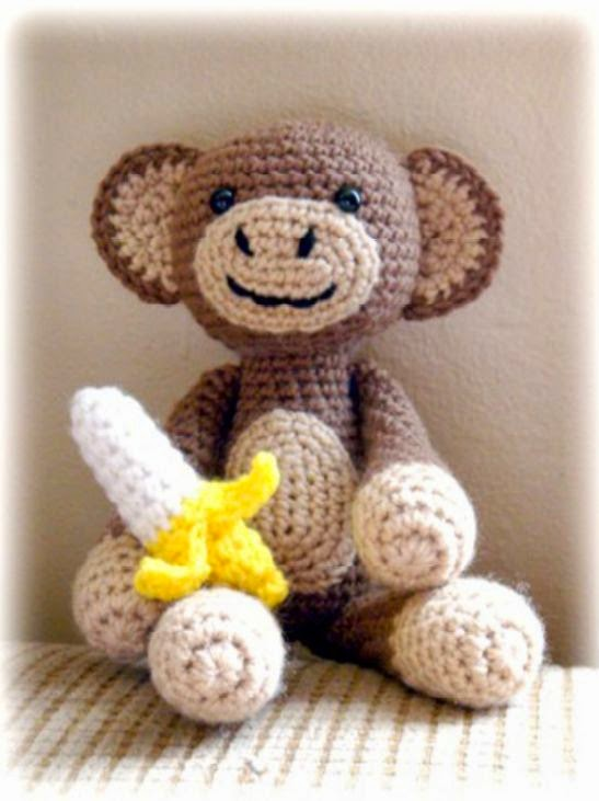 Amigurumi Monkey Patron Gratis : Amigurumi patrones gratis pdf - Imagui