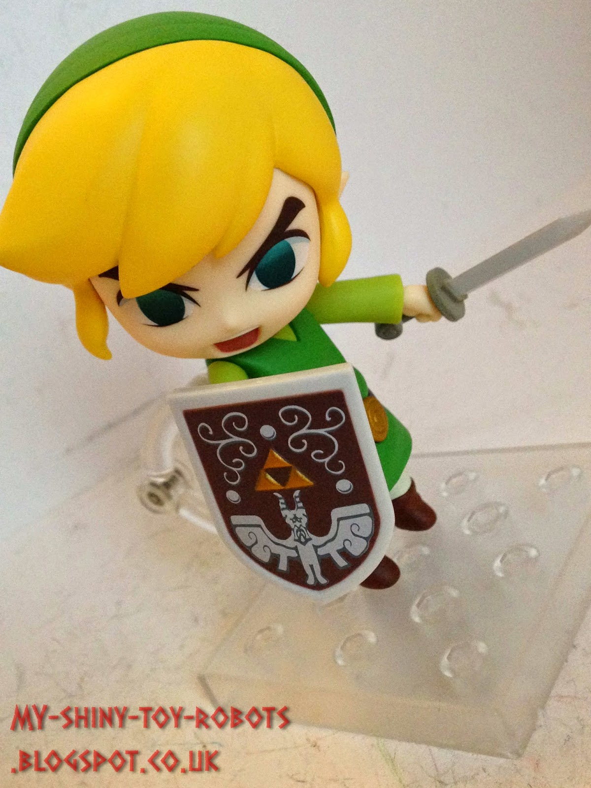 A better look at Link's shield