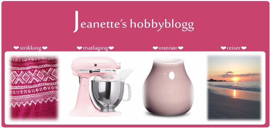 Jeanette's hobbyblogg