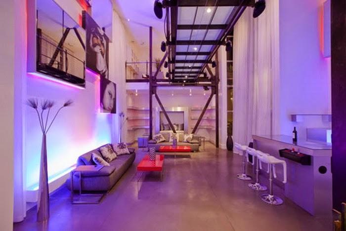 LED lights in the interior - Magic ideas