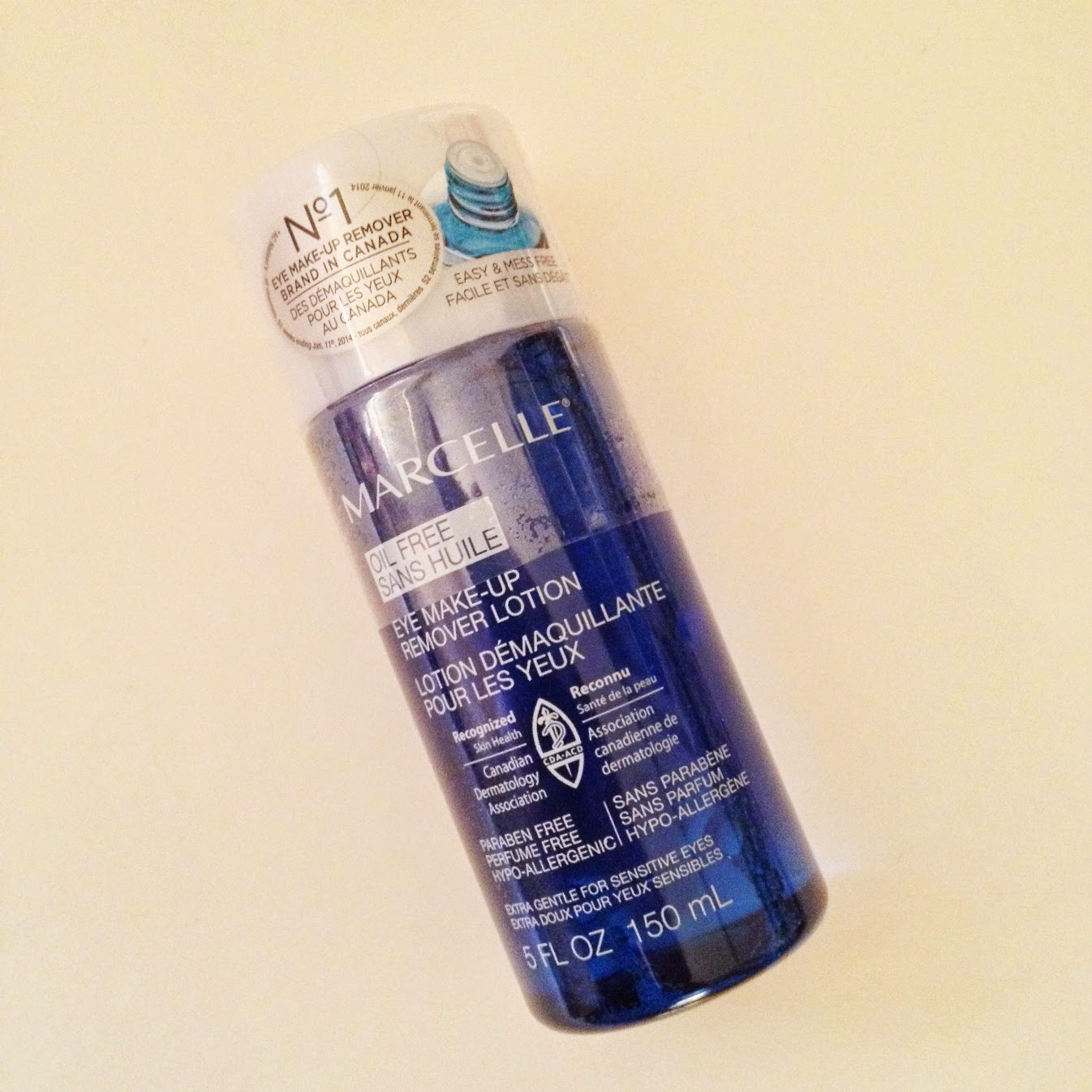 Marcelle Oil Free Eye Makeup Remover