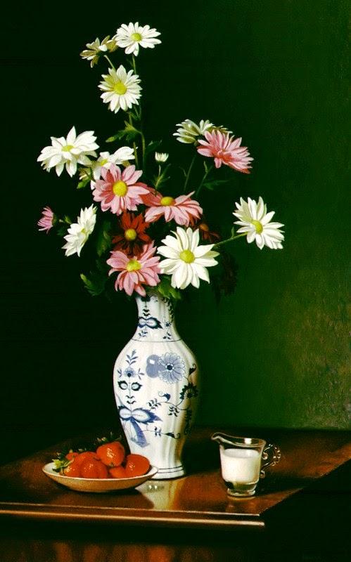 jarrones-de-cristal-pintados-a-manorros-con-flores-pintura-al-oleo