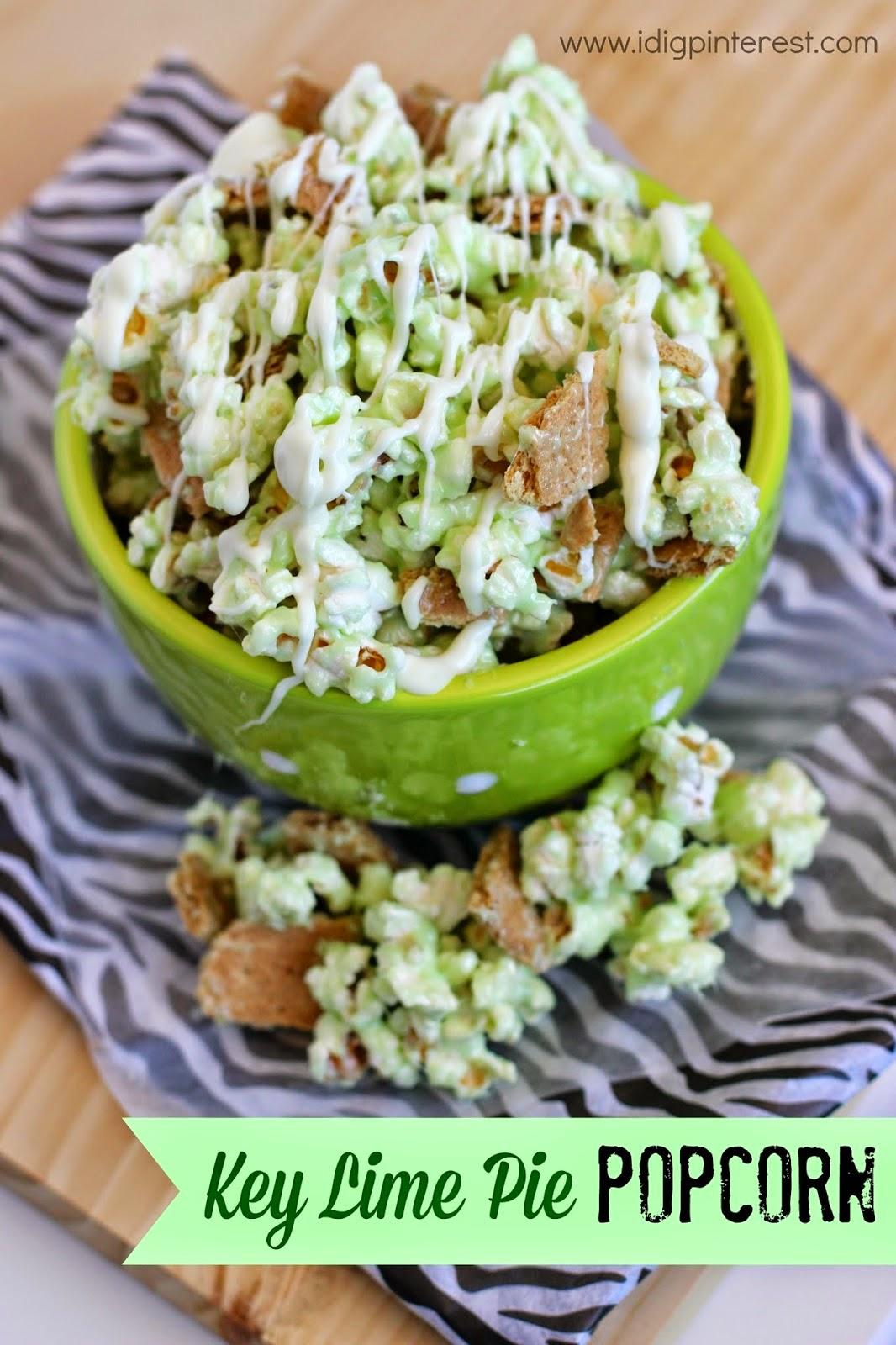 key lime popcorn