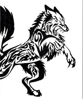 Fotos da Tatuagem de Lobo