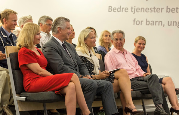 Crown Princess Mette-Marit attended A conference In Oslo