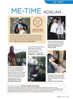 I'm Here: Majalah Kesehatan NIRMALA (rubrik ala kami)