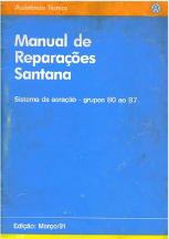 MANUAL DE REPARAÇÕES SANTANA 1991 (AR CONDICIONADO)