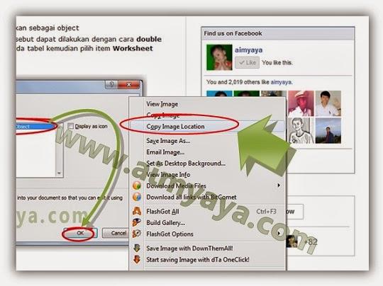 Gambar: Menyalin URL gambar (image) di  Mozilla Firefox