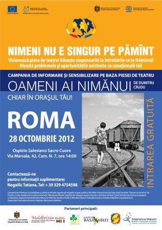 """Campania in Italia: """"NIMENI NU E SINGUR PE PĂMÂNT"""""""