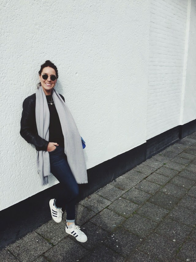 outfit adidas superstar shoes sneakers ootd fashion blogger blog