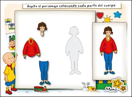 Caillou El Cuerpo Formas y Puzzles PC Full Español Descargar 1 Link