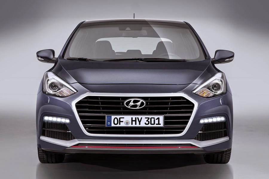 Hyundai i30 Turbo 3-Door (2015) Front
