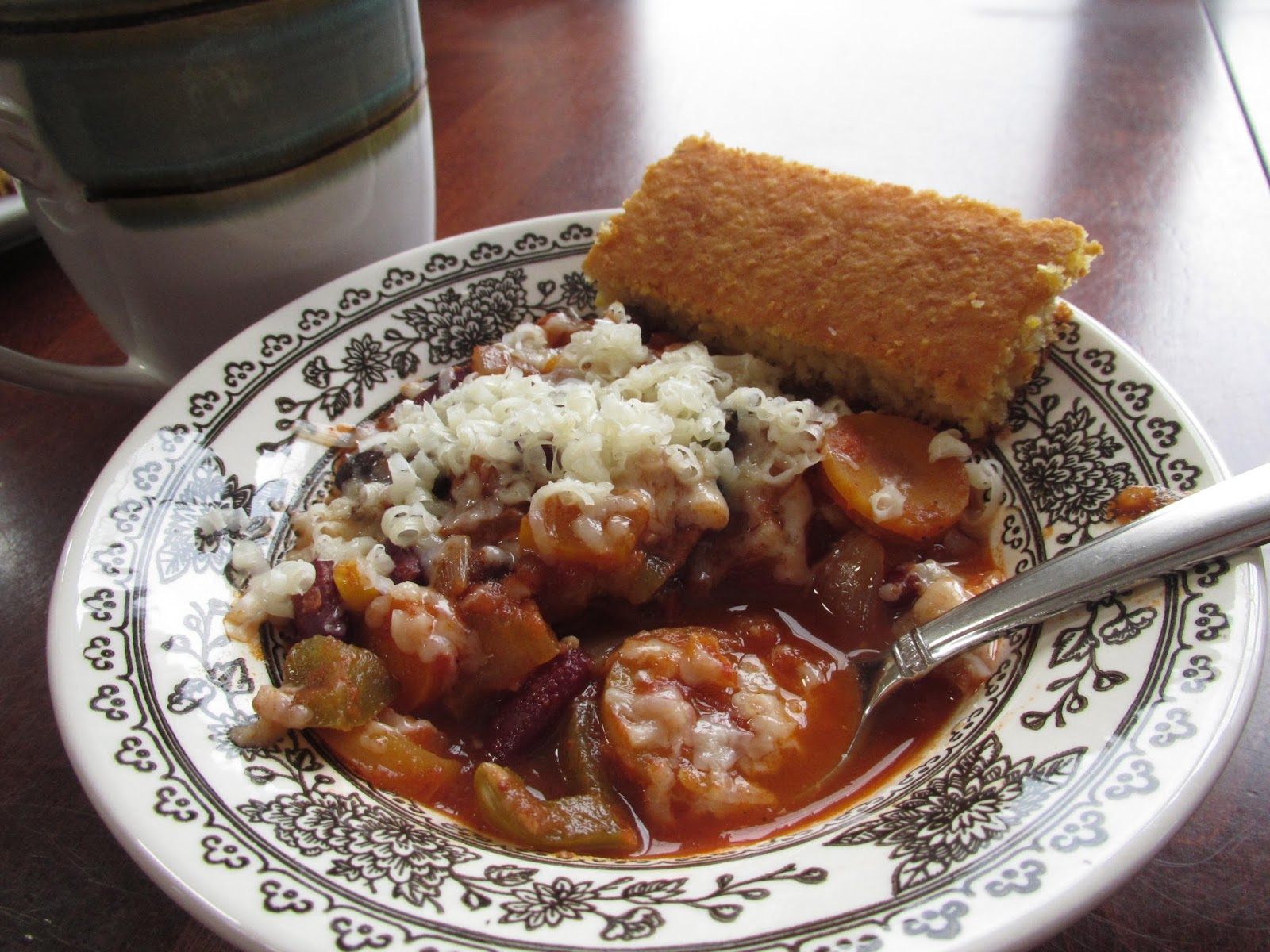 ... -free Vegetable Chili, served with homemade Gluten-Free cornbread