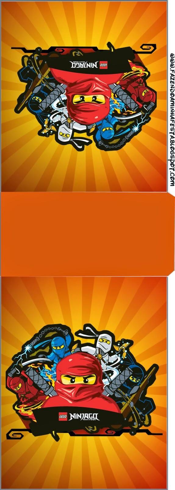 Etiqueta para Tic Tac de Ninjago