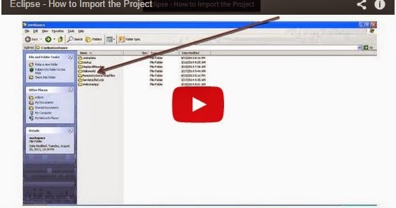 Java ee eclipse how to import the project for Pool design pattern java