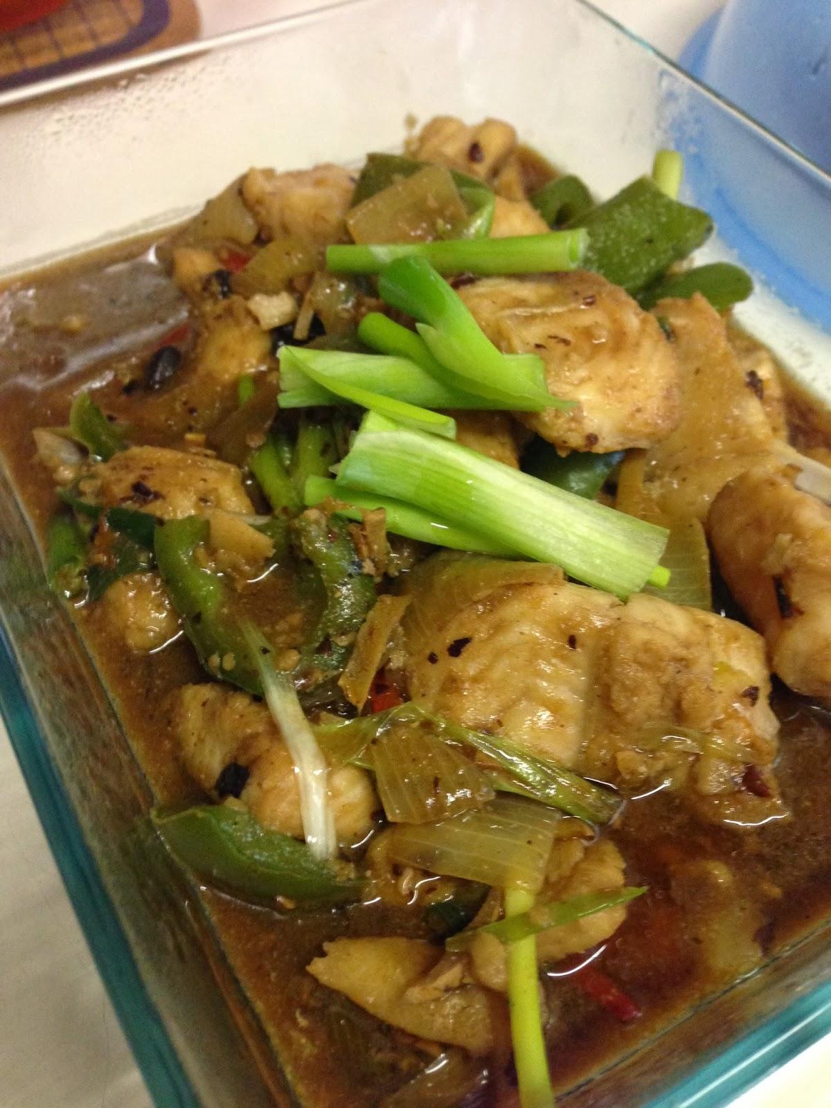 Stir-fried Fish Fillet With Black Bean Sauce Recipe — Dishmaps